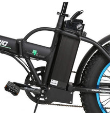 Load image into Gallery viewer, Ecotric 36V 500W Fat Tire Folding Electric Bike battery