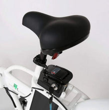 Load image into Gallery viewer, Ecotric Fat Tire Folding Electric Bike saddle