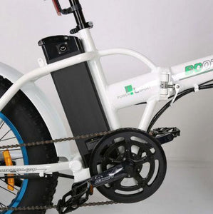 Ecotric Fat Tire Folding Electric Bike frame