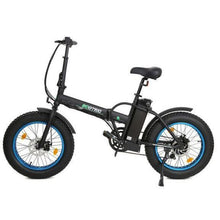 Load image into Gallery viewer, Ecotric 36V 500W Fat Tire Folding Electric Bike (black)