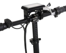 Load image into Gallery viewer, Ecotric Fat Tire Folding Electric Bike handlebar