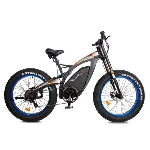 Ecotric Bison 48V 1000W Big Fat Tire Electric Bike