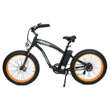 Load image into Gallery viewer, Ecotric Hammer 48V 1000W Electric Fat Tire Cruiser Bike