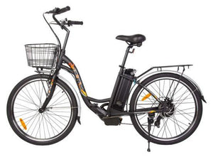 Ecotric Peacedove 36V 350W Step-Through Electric City Bike (black)