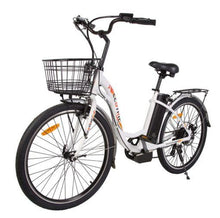 Load image into Gallery viewer, Ecotric Peacedove Step-Through Electric City Bike