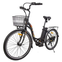 Load image into Gallery viewer, Ecotric Peacedove Step-Through Electric City Bike (black)