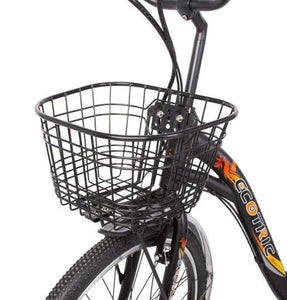 Ecotric Peacedove front basket