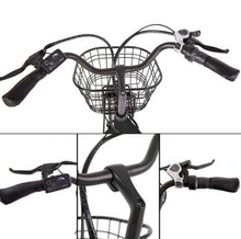 Load image into Gallery viewer, Ecotric Peacedove handlebar, throttle, shifter and front basket