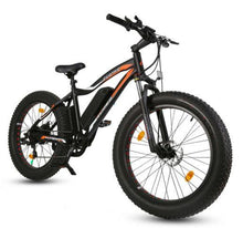 Load image into Gallery viewer, Ecotric Rocket 36V 500W Beach and Snow Fat Tire Electric Bike (black)