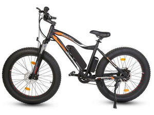 Ecotric Rocket 36V 500W Beach and Snow Fat Tire Electric Bike (black)