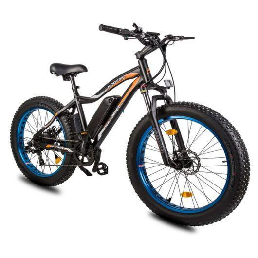 Ecotric Rocket 36V 500W Beach and Snow Fat Tire Electric Bike (blue)