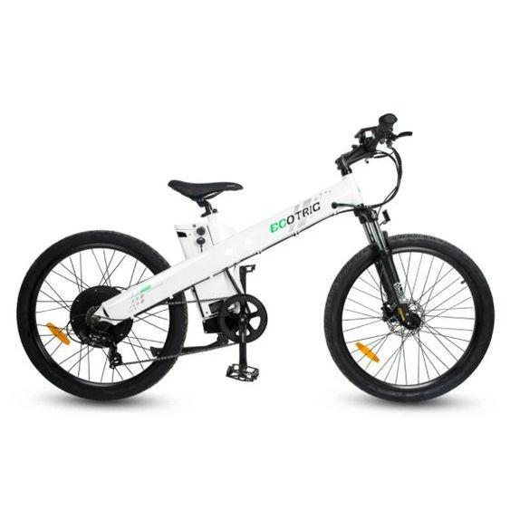 Ecotric Seagull 48V 1000W Electric Mountain Bike (white)