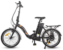 Load image into Gallery viewer, Ecotric Starfish 36V 350W Step-thru Folding Electric Bike (black)