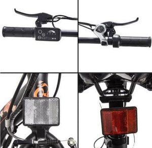 Ecotric Starfish throttle, shifter, headlight and rear reflector