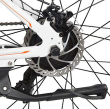 Load image into Gallery viewer, Ecotric Vortex rear disc brake rotor and kickstand