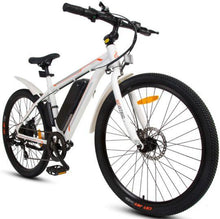 Load image into Gallery viewer, Ecotric Vortex 36V 350W Electric City Bike (white)