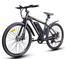 Load image into Gallery viewer, Ecotric Vortex 36V 350W Electric City Bike (black)