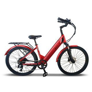 EMOJO 48V 500W Panther Pro Electric Step-Through Hybrid Cruiser Bike