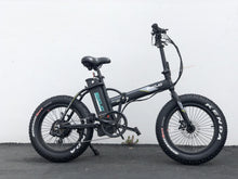 Load image into Gallery viewer, EMOJO 48V 750W LYNX PRO Electric Folding Fat Tire Bike (black)