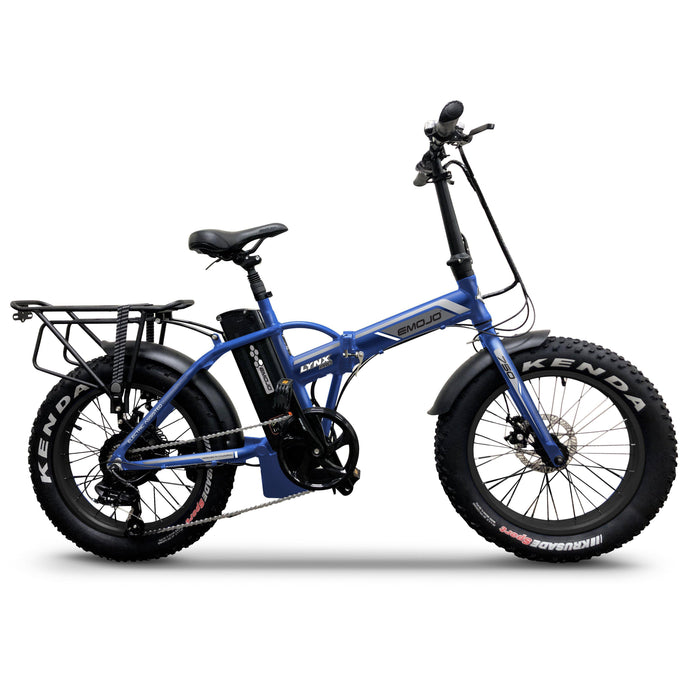 EMOJO 48V 750W LYNX PRO Electric Folding Fat Tire Bike (blue)