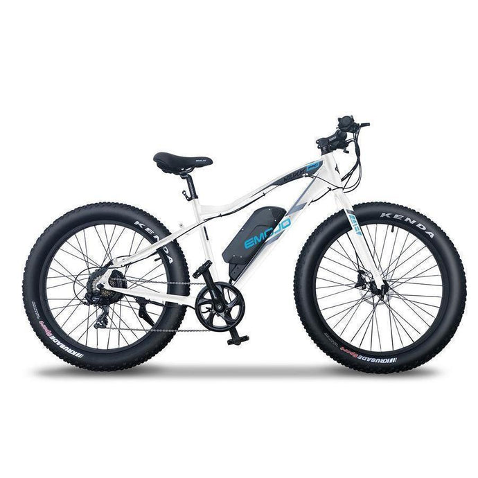 EMOJO WILDCAT PRO 750W/500W 48V Electric Fat Tire Mountain Bike (white)