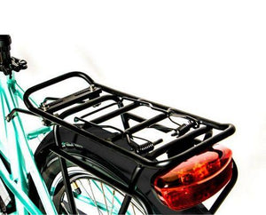 Eunorau E-Torque Step-Thru Electric Bike rear rack