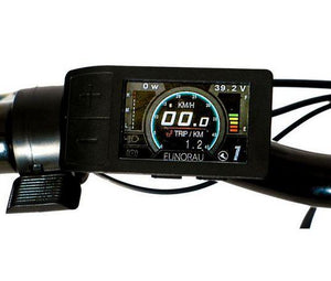 Eunorau E-Torque Step-Thru Electric Bike lcd panel
