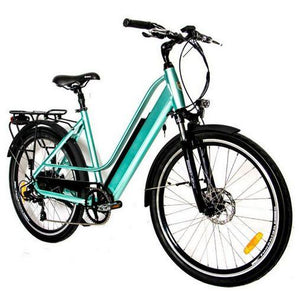 Eunorau E-Torque 36V 350W Step-Thru Electric Bike (green)