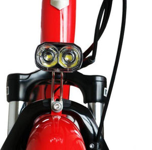 Eunorau E-Torque Step-Thru Electric Bike headlight