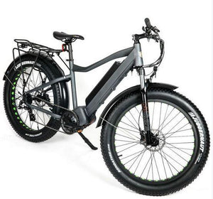Eunorau Fat-HD 1000w Mid-Drive Fat Tire Electric Mountain Bike (grey)