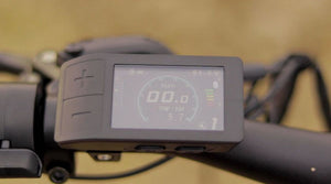Eunorau Fat-HD electric mountain bike lcd display