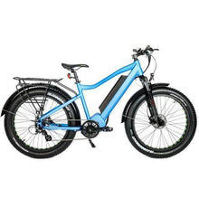 Load image into Gallery viewer, Eunorau Fat-HD 1000w Mid-Drive Fat Tire Electric Mountain Bike (blue)