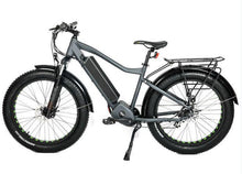 Load image into Gallery viewer, Eunorau Fat-HD 1000w Mid-Drive Fat Tire Electric Mountain Bike (grey)