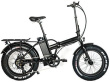 Load image into Gallery viewer, Eunorau Fat-MN fat Tire Folding Electric bike (black)