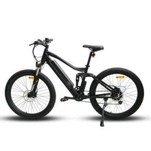 Load image into Gallery viewer, Eunorau UHVO All-Terrain Full-Suspension Electric Mountain Bike (black)