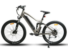 Load image into Gallery viewer, Eunorau UHVO All-Terrain Full-Suspension Electric Mountain Bike (grey)