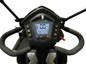 EV Rider S12X Vita Monster Mobility Scooter dashboard