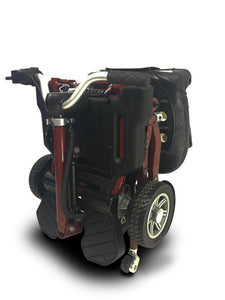Folded EV Rider WT-T3T-FD MiniRider Folding Scooter (red)