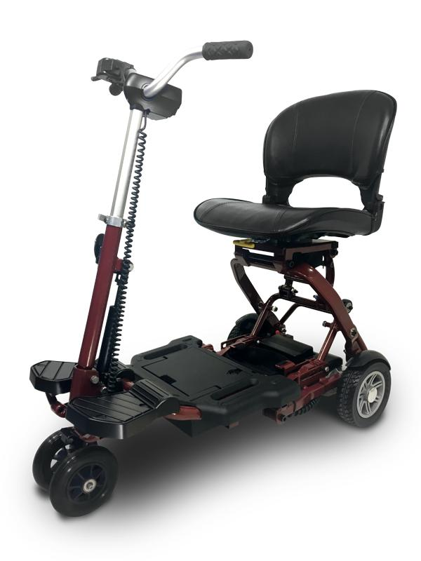 EV Rider WT-T3T-FD MiniRider Folding Scooter (red)