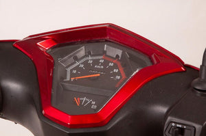 dashboard of EW-10 Sport 3-Wheel Scooter