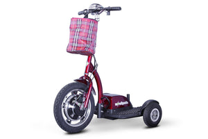 EWheels EW-18 Stand-N-Ride Three Wheel Folding Electric Scooter (red)