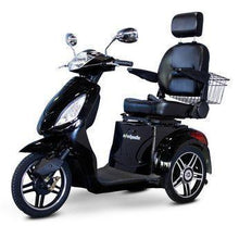 Load image into Gallery viewer, EWheels EW-36 Three Wheel Electric Mobility Scooter (black)