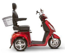 Load image into Gallery viewer, EWheels EW-36 Three Wheel Electric Mobility Scooter (red)