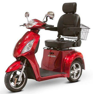 EW-36 Three Wheel Electric Mobility Scooter (red)