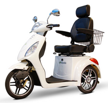 Load image into Gallery viewer, EW-36 Three Wheel Electric Mobility Scooter (white)
