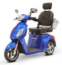 Load image into Gallery viewer, EWheels EW-36 Three Wheel Electric Mobility Scooter (blue)