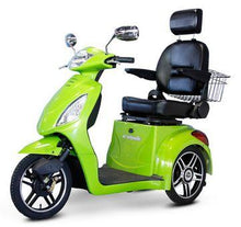 Load image into Gallery viewer, EWheels EW-36 Three Wheel Electric Mobility Scooter (green)