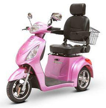 Load image into Gallery viewer, EWheels EW-36 Three Wheel Electric Mobility Scooter (magenta)