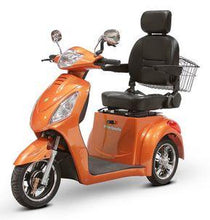 Load image into Gallery viewer, EWheels EW-36 Three Wheel Electric Mobility Scooter (orange)