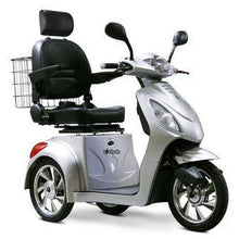 Load image into Gallery viewer, EWheels EW-36 Three Wheel Electric Mobility Scooter (silver)